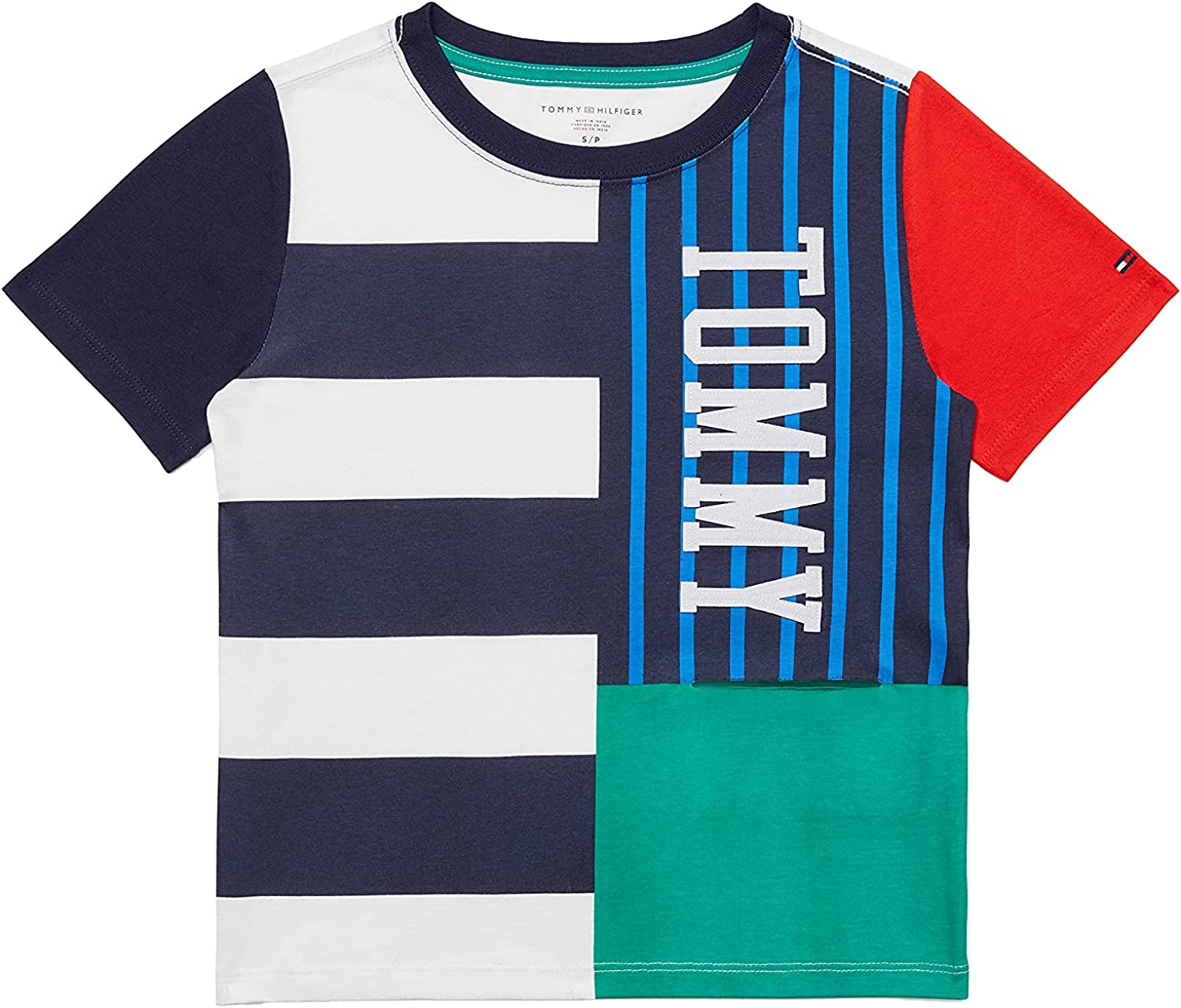 Tommy Hilfiger Adaptive Tommy Hilfiger Boys' Adaptive T Shirt with Port Access