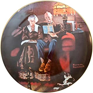Collectible Plate #2474H Norman Rockwell