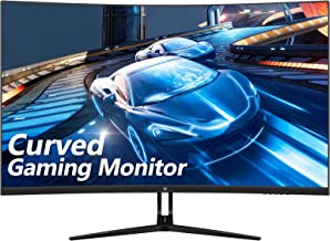 $299 » Z-Edge 32-inch Curved Gaming Monitor 16:9 1920x1080 165/144Hz 1ms Frameless LED Gaming Monitor, AMD Freesync Premium Displ...