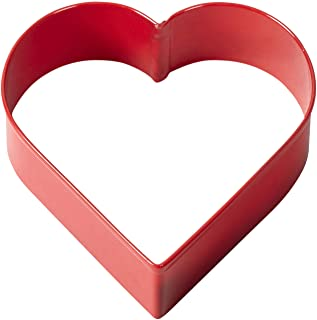 Wilton Red Metal Heart Cookie Cutter 3""