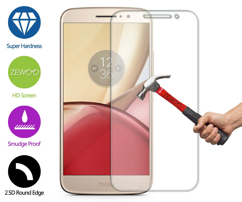 ZEWOO para Motorola Moto M / XT1662 (5,5 Pulgadas) Protector de Pantalla Cristal Vidrio Templado Premium (9H *2.5D, 0,33mm): Amazon.es: Electrónica