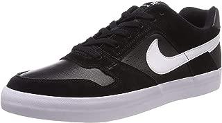 Nike Men's SB Delta Force Vulc Shoes, Obsidian, Obsidian-Black-Wolf Grey