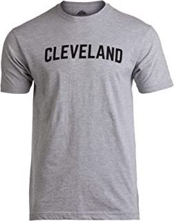 Cleveland | Classic Retro Grey Clevelander Ohio Cleve CLE 216 Men Women T-Shirt