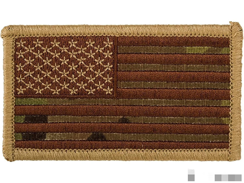 Hook and Loop U.S. IFF Flag Patch (Color: Multicam/Regular)