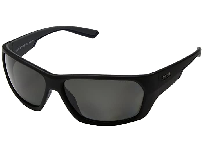 Zeal Optics  Caddis (Matte Black with Polarized Dark Grey Lens) Polarized Fashion Sunglasses