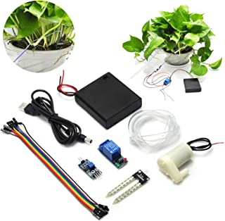 Gikfun Soil Moisture Sensor Kit Automatic Watering System Manager with Mini Water Pump for Arduino DIY Kit EK1915