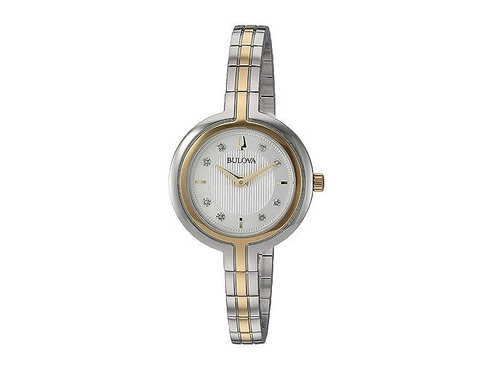 Bulova  Rhapsody - 98P193 (Two-Tone Yellow) Watches