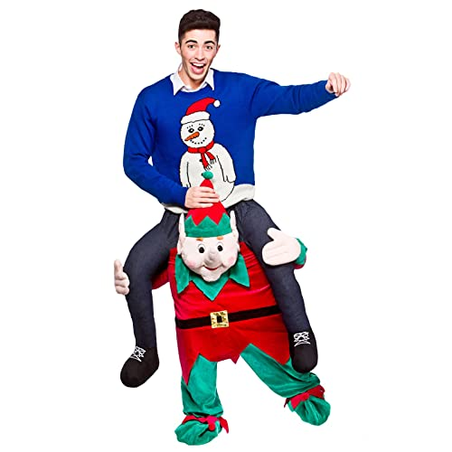 High Quality Carry Me® Christmas Elf Adult Costume One Size ()