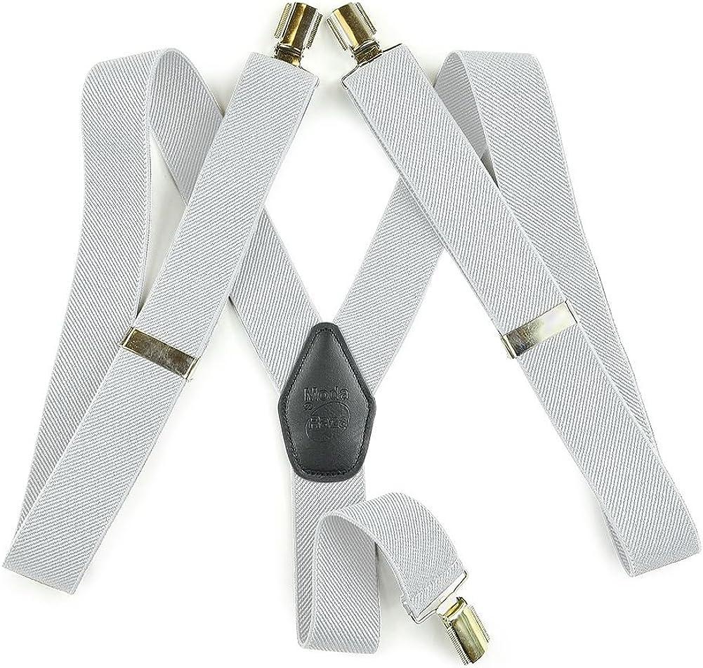 Moda Di Raza Suspender For Men Heavy Duty Y Type Clip
