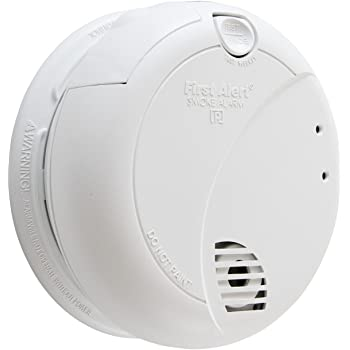 First Alert BRK 7010B Hardwired Smoke Detector with Photoelectric Sensor and Battery Backup