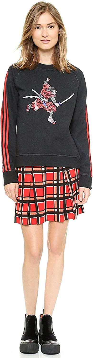 Marc by Marc Jacobs Women's Toto Plaid Crepe Skirt