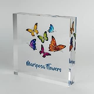 Artblox Logo Acrylic Display | Office Desk Name Plate Personalized | Custom Name Plates for Desks on Acrylic Glass Block | Unique Decor | Office Decor | Trade Show Glass Display | Desk Decor - (6