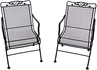 Best vintage wrought iron chairs Reviews