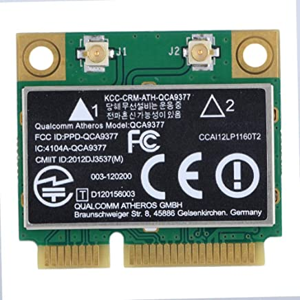 Zerone PCI-E ネットワークアダプターカード WiFiカード デュアルバンド 2.4G/5Ghz ネットワークカード 433Mbps WiFi Mini PCI-E ワイヤレスカード