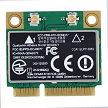Zerone PCI-E Network Adapter Card, WiFi Card Dual Band 2.4G/5Ghz Network Card 433Mbps WiFi Mini PCI-E Wireless Card