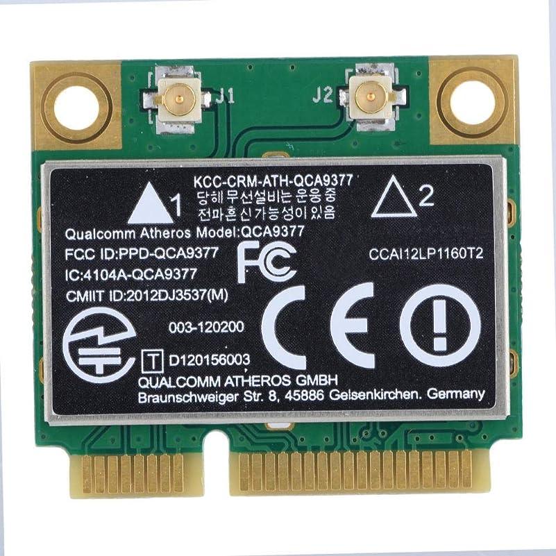 債務付ける準備するZerone PCI-E ネットワークアダプターカード WiFiカード デュアルバンド 2.4G/5Ghz ネットワークカード 433Mbps WiFi Mini PCI-E ワイヤレスカード