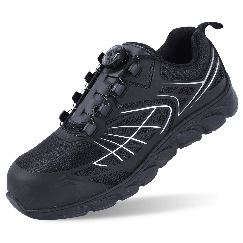 Arkeen Steel Toe Tennis Shoes, Mens