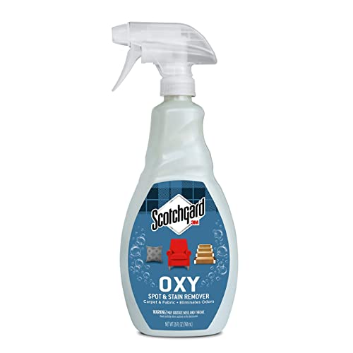 Scotchgard - 1026C Oxy Carpet & Fabric Spot & Stain Remover, 26 Fluid Ounce
