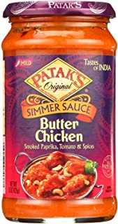 Pataks Simmer Sauce - Butter Chicken Curry - Mild - 15 oz - case of 6 - - - - - -
