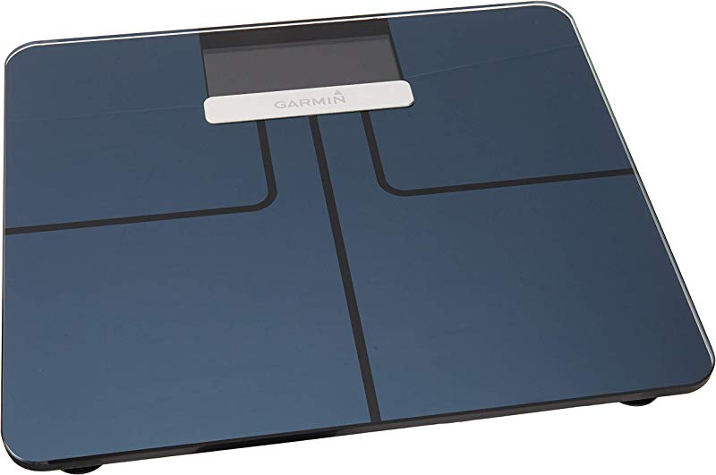 Garmin Index Smart Scale Wi Fi Digital Scale Recognizes Up To 16 Users Up To 9 Months Of Battery Life Black