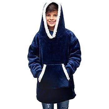 Amazon Com Cat Blanket Sweatshirt Super Soft Warm Cozy Wearable