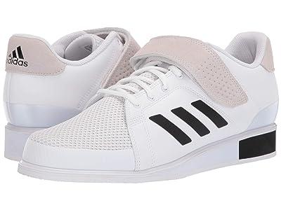 adidas Power Perfect III (Footwear White/Core Black/Footwear White) Men