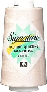 Signature Cotton Quilting Thread, 3000 yd, Solids Linen
