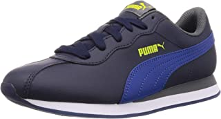 Puma Kids-Unisex Turin II Jr Peacoat-Galaxy Blue