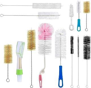 مجموعه تمیز کننده چند منظوره Yoassi 13Pcs شامل نی ، برس برس ، نوک سینه ، کورر ، لوله تمیز کننده ، کیت کوچک ، بلند ، نرم ، سفت برای بطری های کودک ، لوله ها ، کوزه ها ، پرنده پرنده
