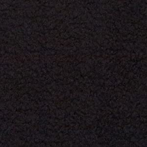 Newcastle Fabrics Polar Fleece Solid Black Fabric by The Yard,