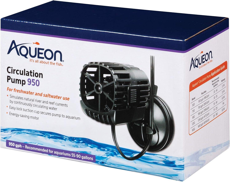 Aqueon Circulation Pump for Aquariums, 950 GPH