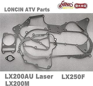Zereff Parts & Accessories 26 Loncin ATV Parts Gasket Setlx200Au Lx200M Quad Spare Engine 250Cc 200Cc Parts Nihao Motor Lx250F Rato Jianshe Bashan Qualit