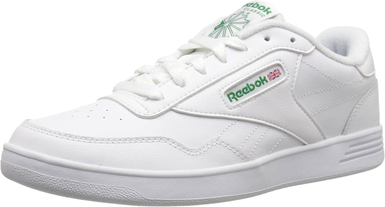 Reebok Mens Club MEMT-M Club MEMT Wide 4e White Size  8.5 UK