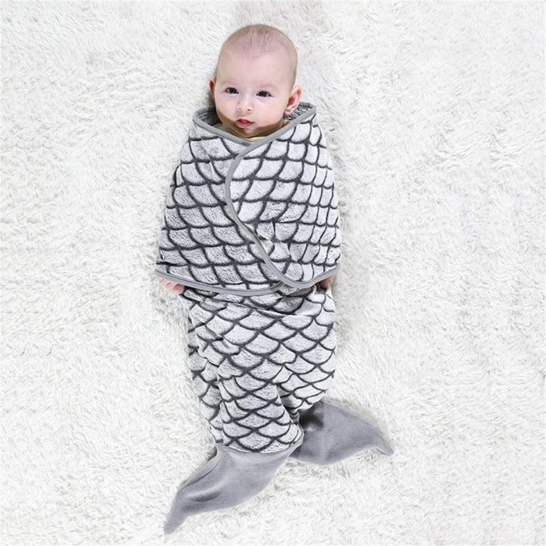粘液土器レオナルドダベビー寝袋 少年少女のためにブランケットを受けバッグ冬新生児ウェアラブルブランケットコットンウォームベビースリーピング漫画形状ベビー スリーパー (Color : A, Size : 33×70cm)