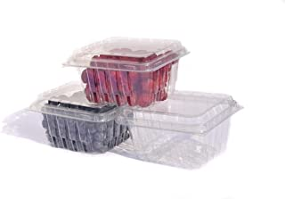 35 PACK - Plastic Berry Basket/Produce Containers - Pint Size