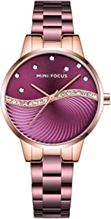 Mini Focus Womens Quartz Watch, Analog Display and Stainless Steel Strap - MF0263L.05