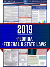 2019 Florida State and Federal Labor Laws Poster - OSHA Workplace Compliant 24