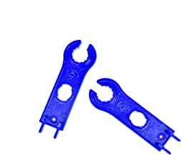 JHBOX Solar Panel Connector Assembly Tool, Hard Plastic Spanner Wrenches Crimping Tool (1 Pair)