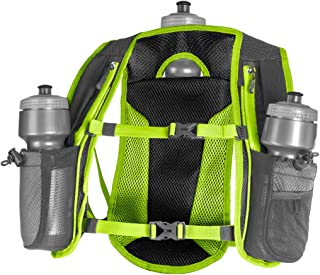 Hydration Pack   Small Hydration Vest for Running  3 Water Bottles (72oz)   Ultra Trail Water Backpack   Designed by Athletes for Athletes