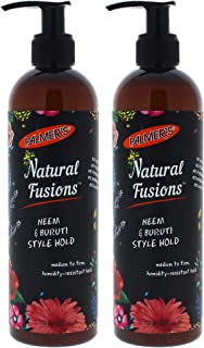 Palmers Natural Fusions Neem and Buruti Style Hold - Pack of 2-12 oz Gel