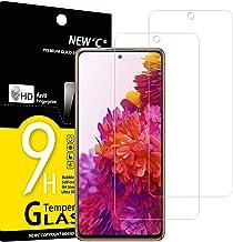 NEW'C Lot de 2, Verre Trempé Compatible avec Samsung Galaxy S20 FE / S20 FE 5G, Film Protection écran sans Bulles d'air Ultra Résistant (0,33mm HD Ultra Transparent) Dureté 9H Glass
