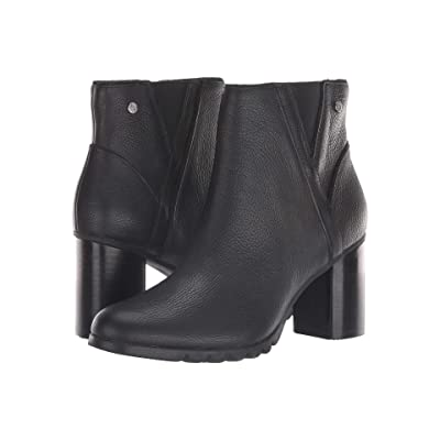 Hush Puppies Spaniel Ankle Boot (Black Leather) Women