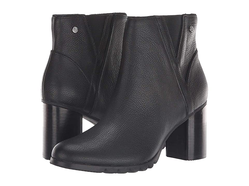 a337588f7c28 Hush Puppies Spaniel Ankle Boot (Black Leather) Women