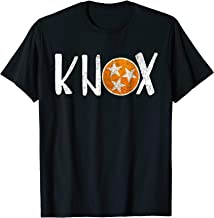 Knox Vintage Distressed Knoxville Tennessee Football Shirt