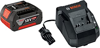 Bosch SKC181-101 18-Volt Lithium-Ion Starter Kit with (1) 4.0 Ah Battery and Charger