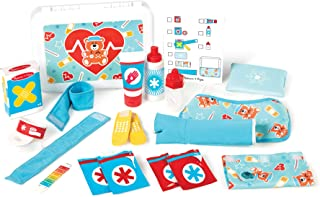 Melissa & Doug Get Well First Aid Play Set   Pretend Play   Play Set   3+   Gift for Boy or Girl