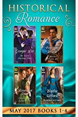 Historical Romance Collection May, 2017: Books 1 - 4: The Secret Marriage Pact / A Warriner to Protect Her / Claiming His Defiant Miss / Rumors at Court ペーパーバック