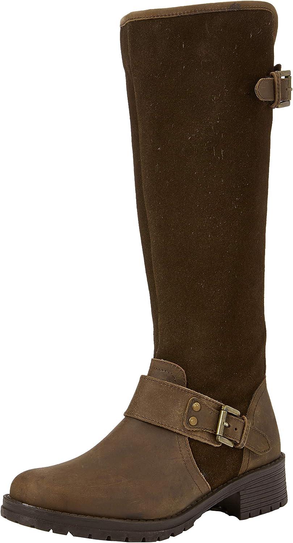 Joe Browns Womens Premium Leather Knee High Biker Boots