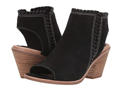 Sofft Maleigha (Black Cow Suede/M-Vege) Women