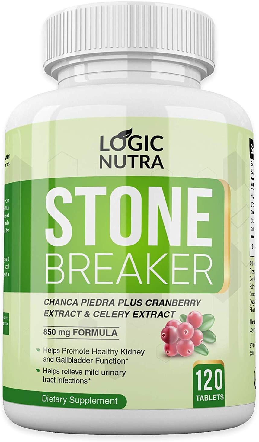 Chanca Max 53% OFF Piedra Kidney Stone Breaker by 80 Nutra Portland Mall Tablets 120 Logic